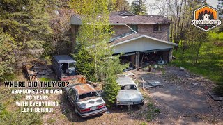 Abandoned for over 20 years! Large house in the woods with everything left behind. Explore #78