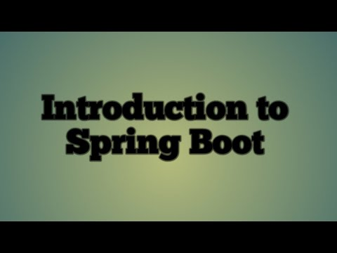 1.introduction-to-spring-boot