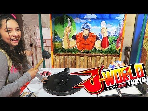 Carnival Games at J-WORLD Tokyo!