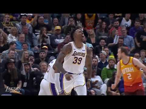 Appropriately-Scored Musical Highlight Reel from the Lakers Win Over the Jazz