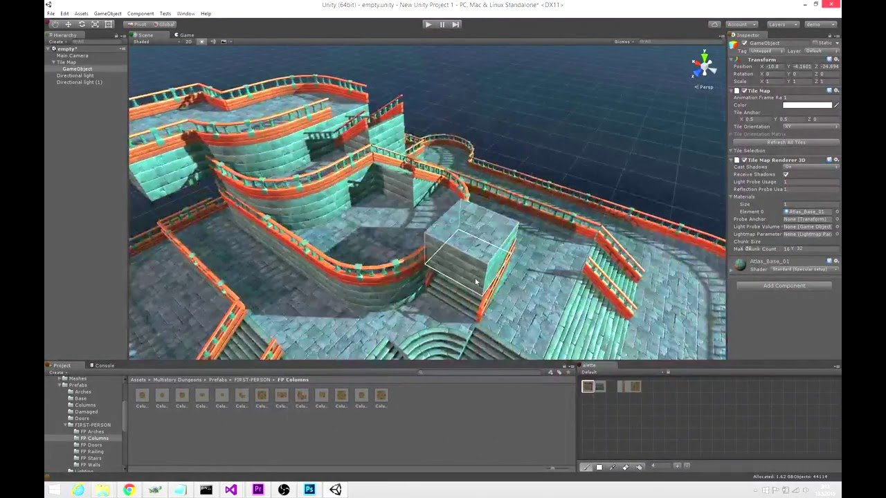 What is the best level editor you have worked with? - Unity