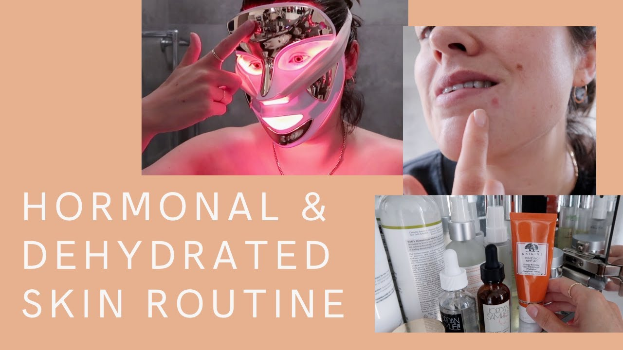 My Weekly Routine For Hormonal & Dehydrated Skin | The Anna Edit