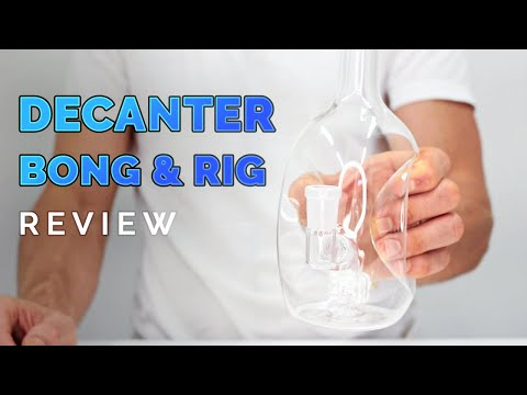 How to Use a Decanter Glass Dab Rig Review | by Purrиз YouTube · Длительность: 4 мин29 с
