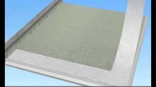Video 2:  Sanace balkonu  nebo terasy s drenážním betonem a rohoží