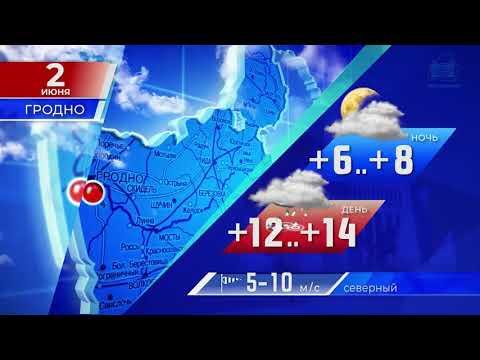 Прогноз погоды по Беларуси на 2 июня 2020 года