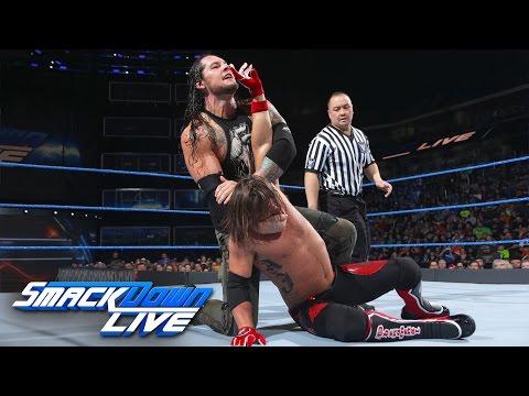 AJ Styles vs. Baron Corbin: SmackDown LIVE, April 25, 2017