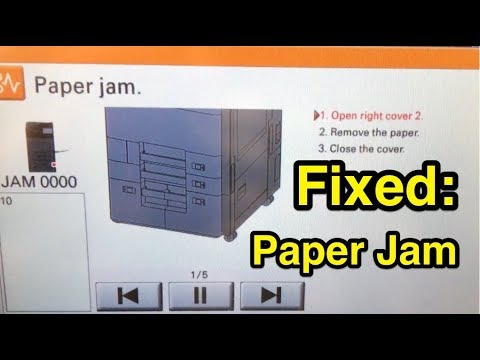 FIXED: Kyocera printer paper jam - TaskAlfa 4002i