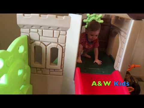 LITTLE TIKES ROCK CLIMBER & SLIDE PLAYSET REVIEW