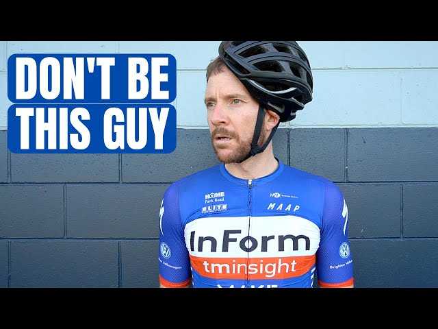 A Ridiculous Mistake Many Beginner Cyclists Make