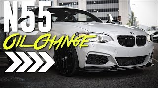 N55 BMW Oil Change and Service Light Reset for M235i, 335i, 435i, and X3