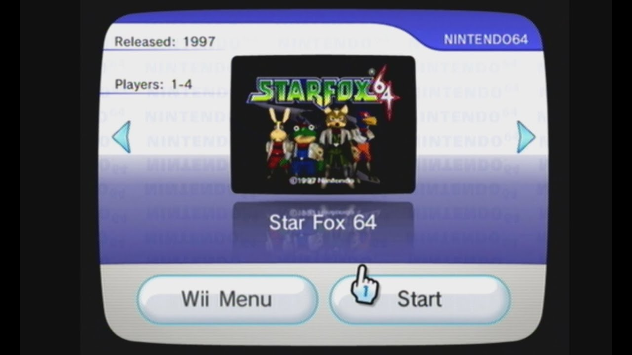 Virtual Console Starfox 64 WAD Manager 1 7 via USB install