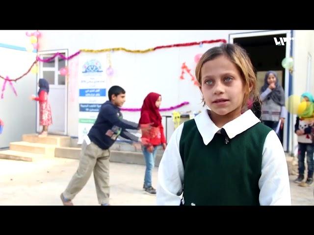 تقرير Syria TV عن حملة مدرستي معي وتوفير التعليم لأكثر من 930 طفل