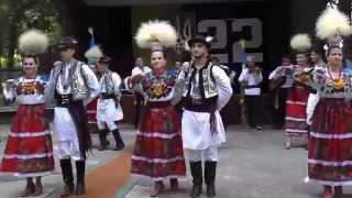 Украинский народный танец. Зажигательный и колоритный танец Западной Украины.(Украинский народный танец, типичный для Буковины (Западная Украина). Исполняют украинский народный танец..., 2013-08-25T12:05:18.000Z)