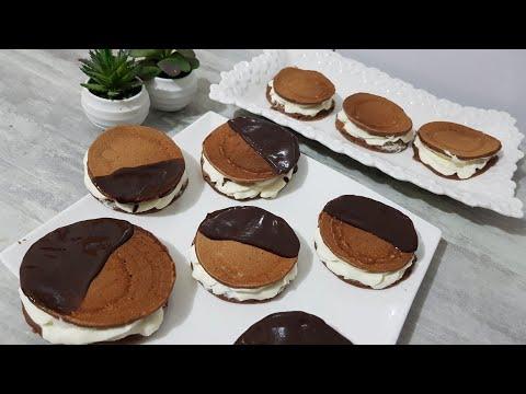 pancake-au-chocolat-et-la-crème-chantilly-recette-inratable