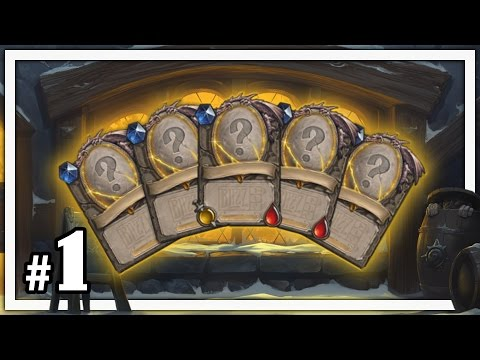 Hearthstone: What's in the Box - Part 1 (Tavern Brawl)