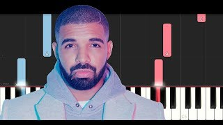 Drake - Mob Ties (Piano Tutorial)