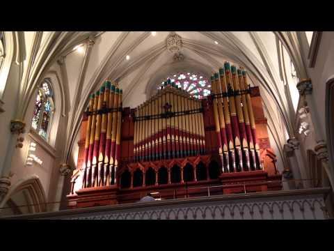 St. Joseph's Cathedral, Buffalo, NY, Organ music