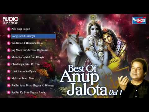 Mix - Top 10 Anup Jalota Bhajans | Hindi Non Stop Bhajan Sandhya | Anup Jalota Songs