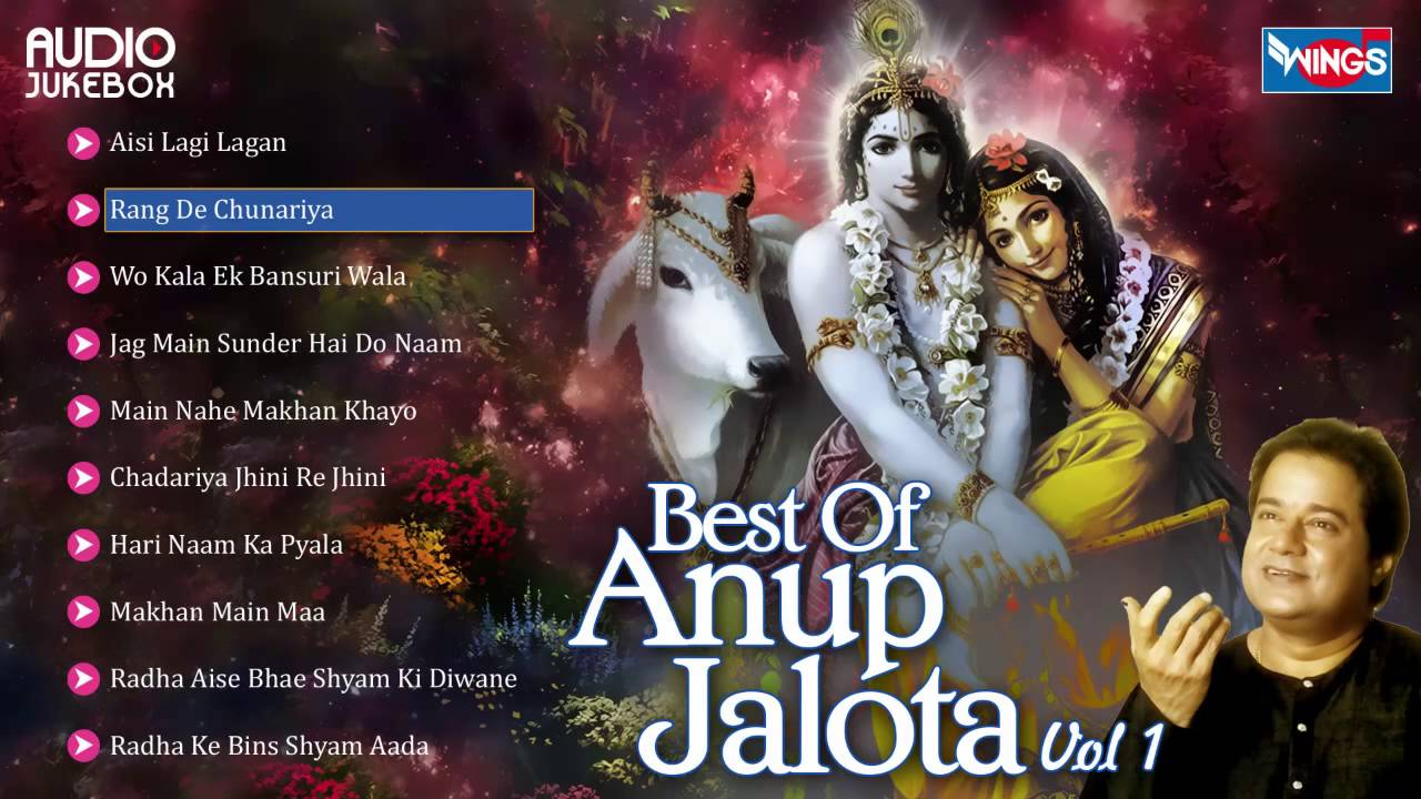 Top 10 Anup Jalota Bhajans | Hindi Non Stop ... - YouTube
