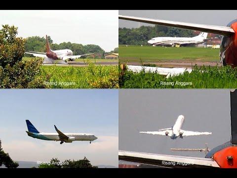 Landing : Xpress, Garuda, Batik Air - Take Off : Citilink, Air Asia, Garuda Bombardier