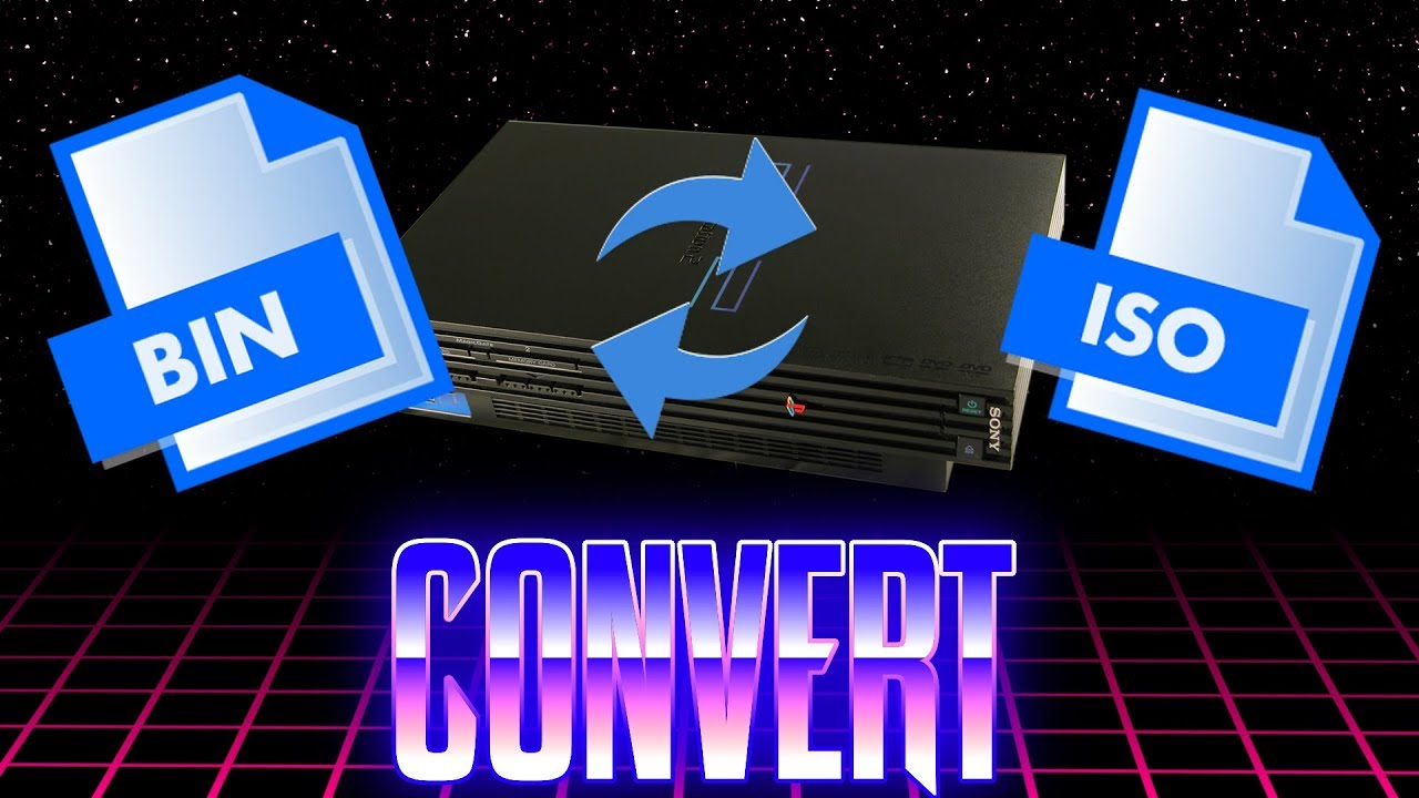 How To Convert PS2 Bin & Cue Files To Iso