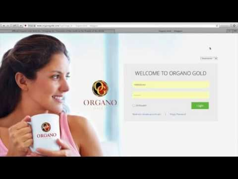 www organo gold com login
