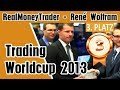 Trading Worldcup 2013 - Award Ceremony 3rd place René Wolfram