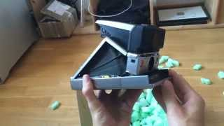 Polaroid SX 70 (Humorous First Person Unboxing)