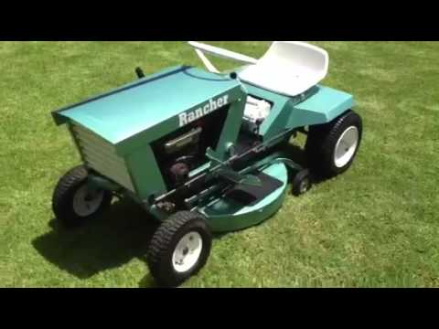 rover colt 8 mower manual