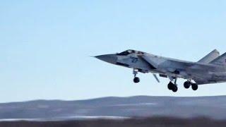 Военные летчики провели учения на Камчатке и Урале