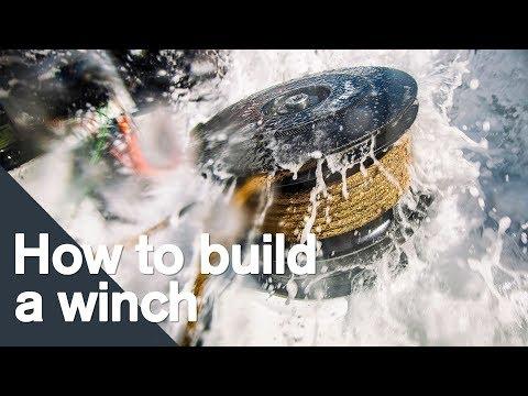 How to build a Harken winch | Volvo Ocean Race