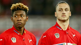 David Alaba, Arnautovic visits Super Eagles in Austria