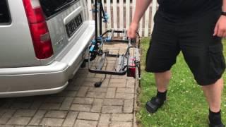 fahrradtraeger an anhaengerkupplung montieren thule tutorial stamp3. Black Bedroom Furniture Sets. Home Design Ideas