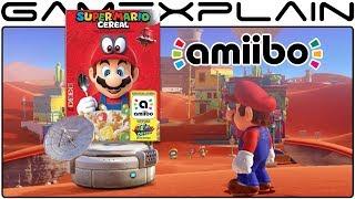 Scanning the Super Mario Cereal amiibo in Mario Odyssey (Special Message!)