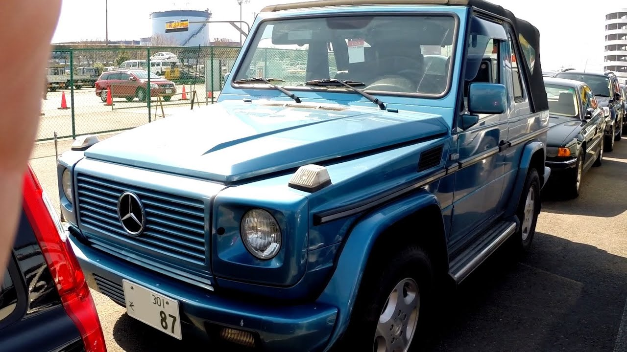 G Class For Sale >> 2000 Mercedes Benz G320 Cabrio 87K - Japanese Auto ...