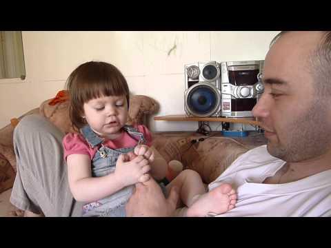 Папа и дочка камера