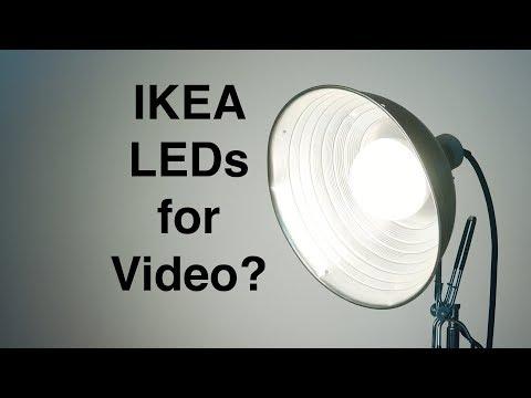 IKEA LED Bulbs: Good Enough for Video Lighting?