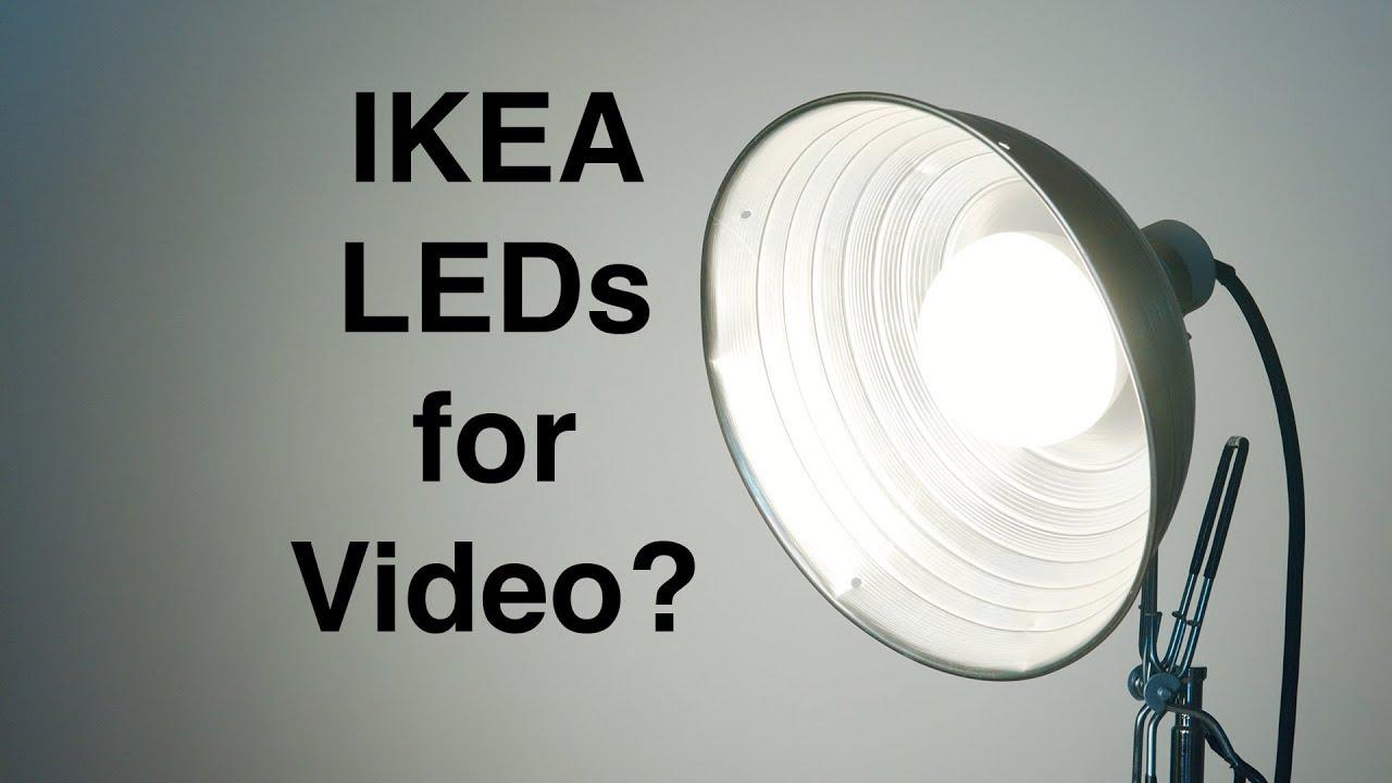 Ikea Led Bulbs Good Enough For Video Lighting