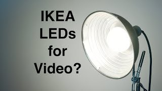 IKEA LED Bulbs: Good Enough for Video Lighting?