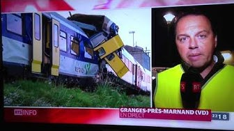 Accident Trains Granges-Marnand (FLASH RTS)
