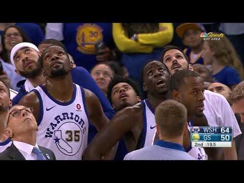Draymond Green Bradley Beal FIGHT Wizards vs Warriors October 27 2017 2017 18 NBA season