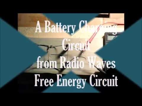 FREE Energy Battery Charging Circuit from Radio Wave, IT WORKS!