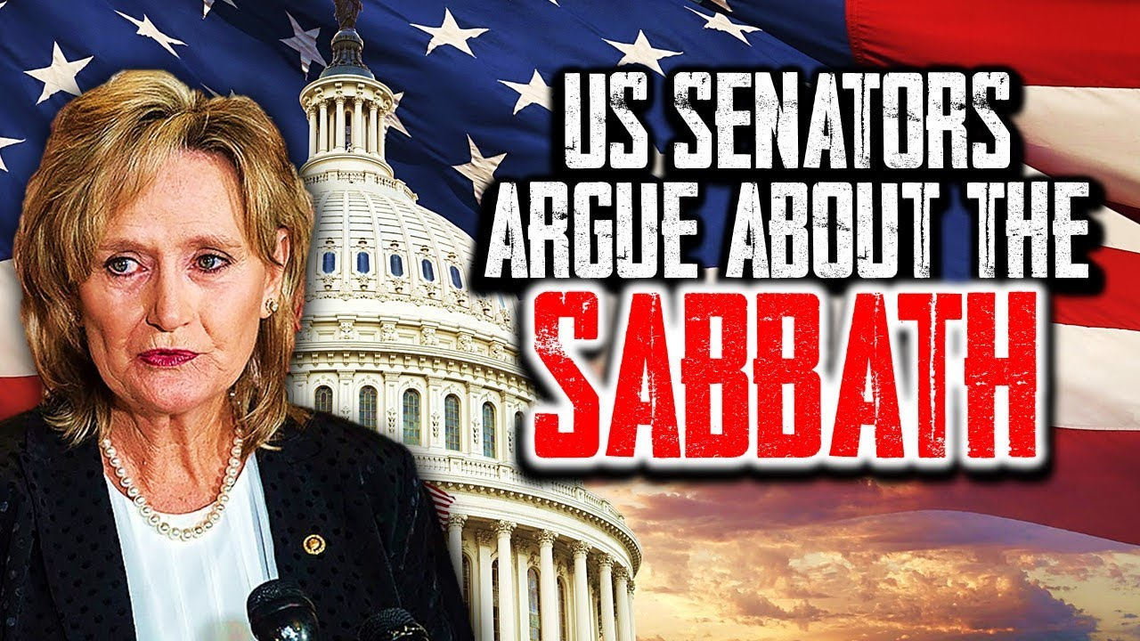 Breaking Prophecy Update: U.S. Senators Argue About the SABBATH at The CAPITOL - Something Biblical!