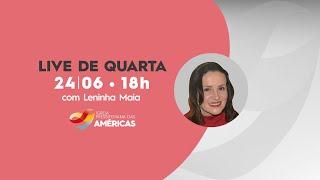 LIVE 24.06 | Rev. Jr Vargas e Leninha Maia