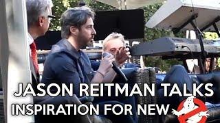 Jason Reitman Talks Inspiration For New Ghostbusters Film