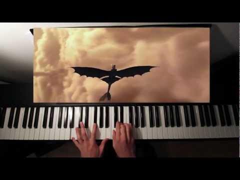 Romantic Flight - How To Train Your Dragon - Piano