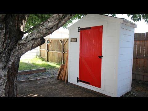 DIY Lawn & Garden Storage Shed: Part 2   Darbin Orvar