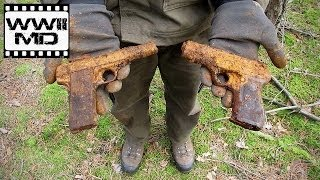 World War II Metal Detecting - German Guns - Eastern Front Battlefield Relic Hunting