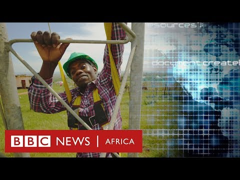 The village that built its own wi-fi network - BBC Africa