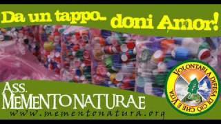 Voce della Nord  Raccolta Tappi 2 Stefano Cavanna responsabile ditta R.M.P. Salari - Roma 25/03/09